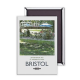 Bristol Afternoon Tea steel fridge magnet (se)